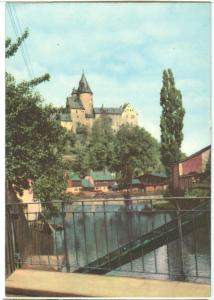 Germany, Schwarzenberg, Schloss, unused Postcard