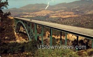 Cold Springs Canyon Bridge
