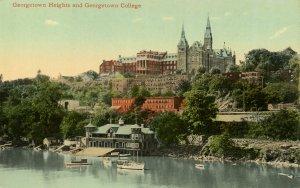 DC - Washington. Georgetown Heights & Georgetown University