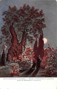 Garden of Gethsemane in JerUSA lem Israel Unused
