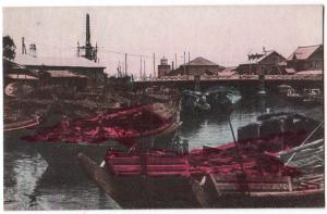 Native Boats, Bridge of Yokohama