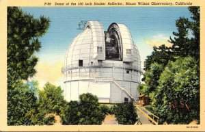 California Mount Wilson Observatory Dome Of The 100 Inch Hooker Reflector Cur...