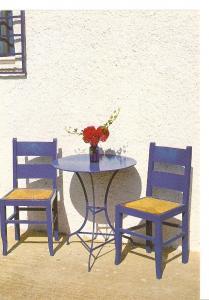 Postal 029759 : Mesa y sillas