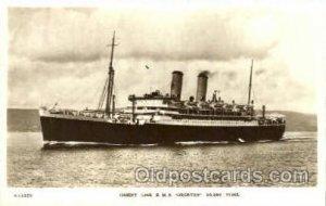R.M.S. Orontes Orient Line Ship Unused