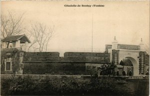CPA AK INDOCHINA Citadelle de Sontay VIETNAM (957601)