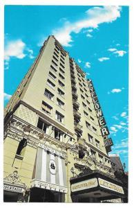 CA Los Angeles Grand Avenue Mayflower Hotel Vintage Postcard