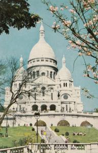 France, Paris, Le Sacre-Coeur, unused Postcard
