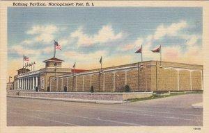 NARRAGANSETT PIER , Rhode Island , 1930-40s; Bathing Pavilion