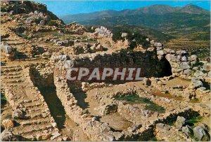 Postcard Modern Mycenae La Fontaine Perseia