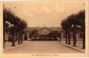 CPA MONTARGIS-La Gare (265955)