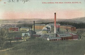 COUNCIL BLUFFS , Iowa, PU-1908 ; School for Deaf