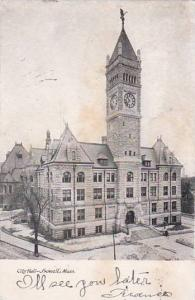 Massachusetts Lowell City Hall 1908