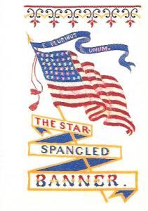 UX390 - UX394  Five wonderful patriotic stamped Post Cards.