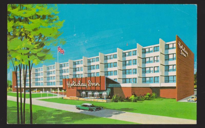 Holiday Inn Corner Brook, Newfoundland 1960s - Unused