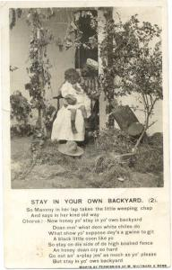 D/B Stay in Your Own Backyard, Mother to Young Son