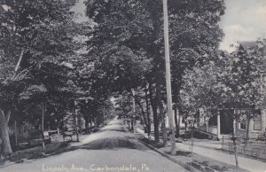 CARBONDALE , Pennsylvania , 00-10s ; Lincoln Avenue