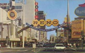 Nevada Reno Fantastic Gateway To Reno Casino Area