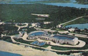 Florida Orlando Air View Of Marineland