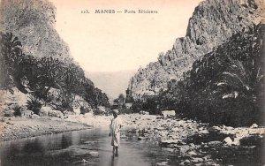 Porte Silicienne Manus, Syria , Syrie Turquie, Postale, Universelle, Carte Un...