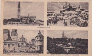 Poland Czestochowa Multi View 1930