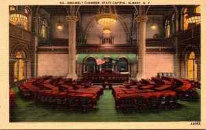 New York Albany State Capitol Building Assembly Chamber