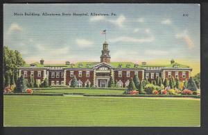 Allentown State Hospital Allentown PA Post Card 5085