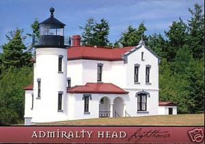Fort Casey State Park, Wa., Admirality Head LIGHTHOUSE