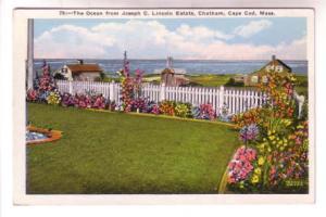 The Ocean From Joseph Lincoln Estate, Flowers, Chatham, Cape Cod, Massachuset...