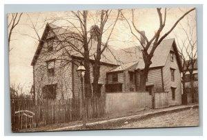 Vintage 1900's Photo Postcard House of the Seven Gables Salem Massachusetts