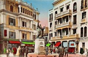 TUNIS TUNISIA AFRICA~PLACE LAVIGERIE~1930s PHOTO POSTCARD