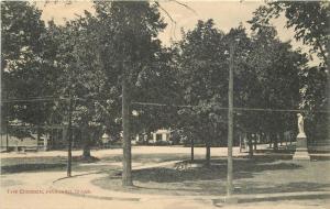 Common Harvard Massachusetts C-1910 Postcard Gale Dickinson 13371