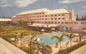 Nassau Bahamas 1960s Postcard Emerald Beach Hotel