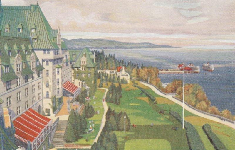 LA MALBAIE, Quebec,  Canada, 1940-60s; Manoir Richlieu
