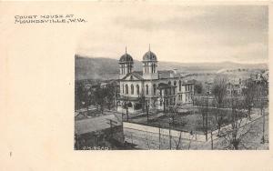 F23 Moundsville West Virginia Postcard c1910 Court House Building Beam 9