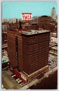 Chicago Illinois~South Wabash Ave~YMCA Roadside Motel~Cafeteria~Laundromat~1950s
