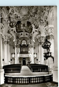 Wallfahrtskirche Steinhausen Germany Interior Vintage 4x6 Photo Postcard E04