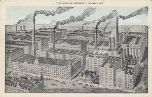MILWAUKEE , Wisconsin , 1910s ; The Schlitz Brewery