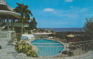 Swimming Pool, Castelhaiti Hotel, PORT AU PRINCE, Haiti, 40-60's