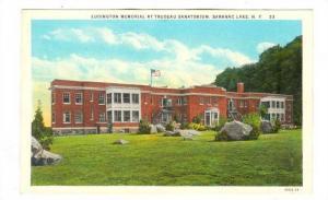 Ludington Memorial at Trudeau Sanitorium, Saranac lake, New York, 00-10s