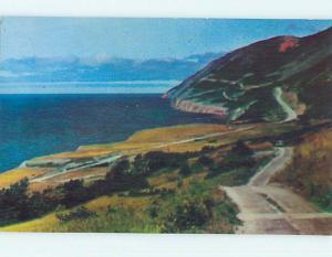 Unused Pre-1980 TOWN VIEW SCENE Cabot Trail - Cape Breton Island NS p7984-22