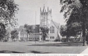 EVANSTON, Illinois, 1900-10s; Garrett Biblical Institute, Northwestern Univer...