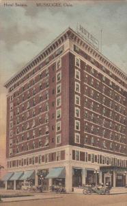 Hotel Severs , MUSKOGEE , Oklahoma , PU-1919