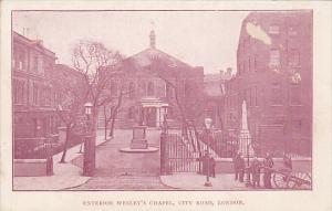 Exterior Wesley's Chapel, City Road, London, England, United Kingdom, 10-20s