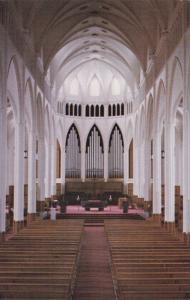 Interior View of Cathedrale St. Germain, RIMOUSKI, Quebec, Canada, PU-1986