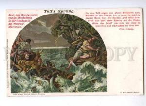 177937 Tell's Sprung Wilhelm Tell by STUCKELBERG vintage color