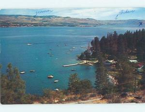 Pre-1980 LAKE SCENE Lake Chelan - Manson Washington WA hp6370