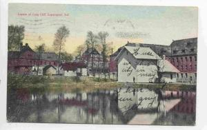Lagoon at Long Cliff, Logansport, Indiana, PU-1908