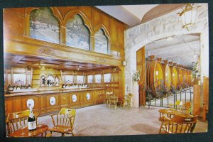 ST HELENA, Ca ~ Christian Brothers Wine Champagne Cellar Interior View Postcard