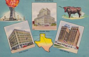 Texas Amarillo Hotel Capitol Hotel Herring & Amarillo Hotel