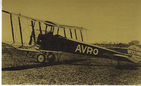 Qantas Airlines AVRO 504K 1921 - Qantas 50th Anniversary